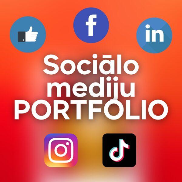 """Apmācību cikls """"Sociālo mediju PORTFOLIO"""""""